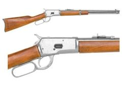 M1892 Winchester Antiqued Finish Lever Action Carbine Rifle, Non-Firing Gun