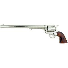 """1873 Single Action Buntline Special Revolver 17.5"""" Gun - Nickel"""