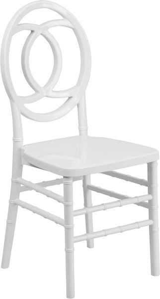 12. Resin Chiavari Royal Chair Silver Frame