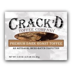 Premium Dark Roast Toffee 1/3 lb.
