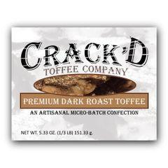 Premium Dark Roast Toffee 1/3 lb.