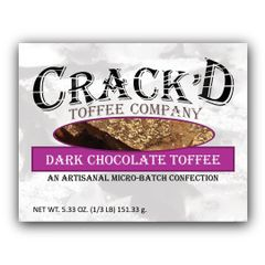 Dark Chocolate Toffee 1/3 lb.