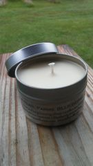 Blueberry Soy/Beeswax Candle