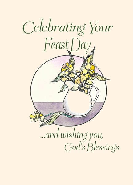 Fd200 celebrating your feast day life greetings catholic fd200 celebrating your feast day m4hsunfo