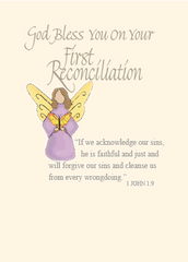FP201 GOD BLESS YOU ON YOUR FIRST RECONCILIATION
