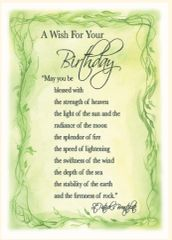 BD11 AN IRISH WISH FOR YOUR BIRTHDAY