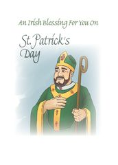 CE350 AN IRISH BLESSING - ST. PATRICK'S DAY