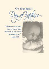 N903 BABY BAPTISM - BOY