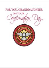 C609 FOR YOU, GRANDDAUGHTER ON YOUR CONFIRMATION