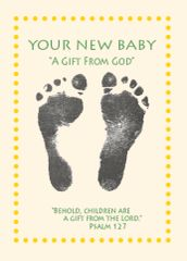 """N430 YOUR NEW BABY - """"A Gift From God"""""""
