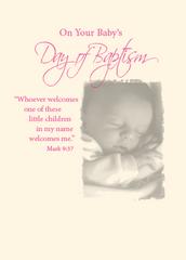 N902 BABY'S BAPTISM - GIRL