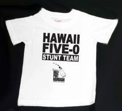 HAWAII FIVE-0 STUNT TEAM (White T-Shirt)