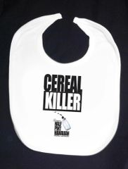 CEREAL KILLER (White Bib)