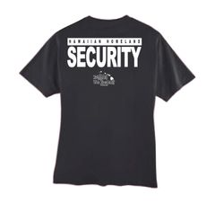 HAWAIIAN HOMELAND SECURITY (Black T-Shirt)