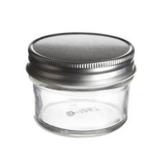 4 oz mason jars clear glass 4 ounce jar