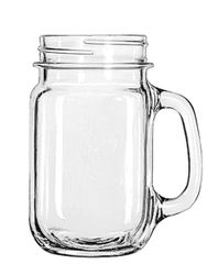 12 oz mason jars with handles clear glass mason - 12 ounce - 12 per case