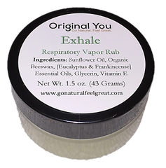 Exhale: Respiratory Vapor Rub