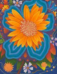 Sayulita Celebration (orange flower)