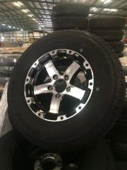 "14"" Aluminum Wheel and Tire"