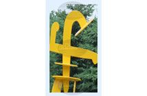 F - Photographic Letter Magnet