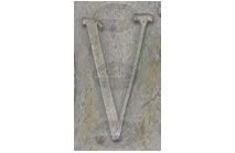 V - Photographic Letter Magnet