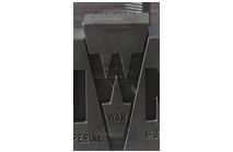 W - Photographic Letter Magnet
