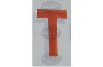 T - Photographic Letter Magnet