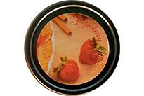 CLEARANCE - Strawberry Rhubarb Scented Soy Wax - Small
