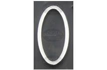 O - Photographic Letter Magnet