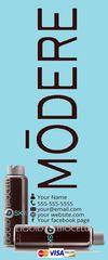 Modere 6' Vertical Banner Blue