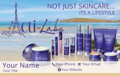 Acti-Labs 4' Horizontal Banner Beach