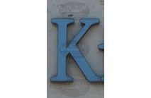 K - Photographic Letter Magnet