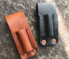 BCNW Leather Firesteel Carrier