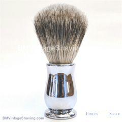 Edwin Jagger Chatsworth Best Badger Shaving Brush Chrome
