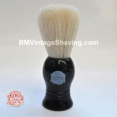 Vulfix Shaving Brush White Bristle Black Handle