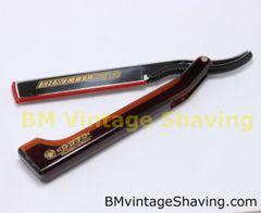 Dovo Shavette Straight Razor - Brown (Hair Trimmer)
