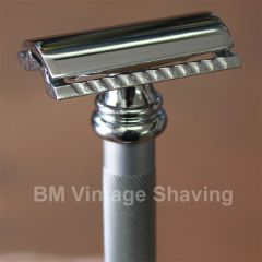 Merkur Barber Pole Double Edge Safety Razor 38C Alum Matt