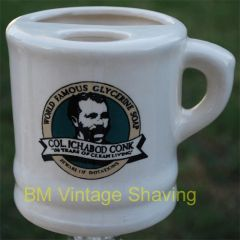 Ceramic Shaving Mug #117 Right