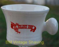 Ceramic shaving Mug #119