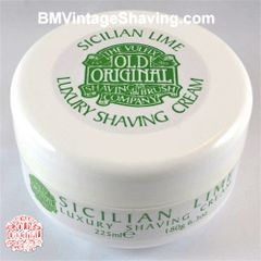 Vulfix Sicilian Lime shaving cream old original shaving cream
