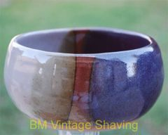 Ceramic shaving bowl #111