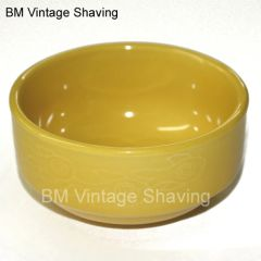Ceramic Shave bowl - Yellow