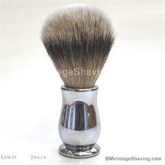 Edwin Jagger Chatsworth Super Badger Shaving Brush Chrome