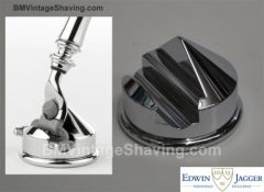 Edwin Jagger Mach 3 and Fusion Razors Cone Stand Chrome