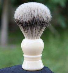 Faux Ivory Silvertip Shaving Brush