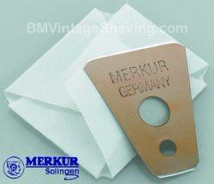 Merkur Moustache/Beard Razor Blades