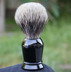 Faux Ebony Pure Badger Shaving Brush