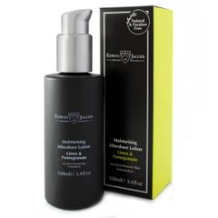 Edwin Jagger Natural After Shave lotion, Lime & Pomegranate , 100ml / 3.4oz