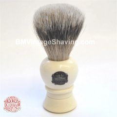 Vulfix Shaving Brush Super Badger Lathe Turned Handle