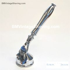 Edwin Jagger Fusion Razor with Cone Stand Chrome